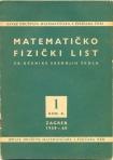 matamaticko fizicki list br 1 1959 1960.
